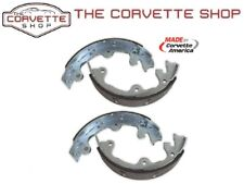 C2 C3 Corvette Parking Emergency Brake Drum Shoes Pads 4pc Set 1965-82 1766