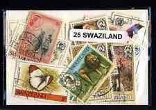 Swaziland 25 timbres différents