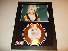 DOLLY PARTON  SIGNED  GOLD CD  DISC 9238