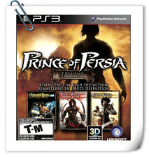 3 IN 1 PS3 PRINCE OF PERSIA TRILOGY HD SONY PlayStation Action Games Ubisoft