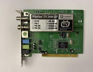 Leadtek WinFast TV2000 XP RM - TV tuner / video capture adapter JEF