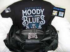 THE MOODY BLUES 2017 Tour VIP Merchandise Set–T-shirt–Duffel Bag–Magnets MORE!