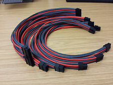 6 / 8 / 6+2 pin Hand Sleeved PSU Cable for All Major Power Supply - Corsair etc.
