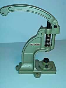 **** Heavy Duty Kam Hand Press rivet canvas Snap Grommet Leather Machine WORKING