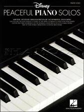 Disney Peaceful Piano Solos Sheet Music Book Frozen Lion King SAME DAY DISPATCH