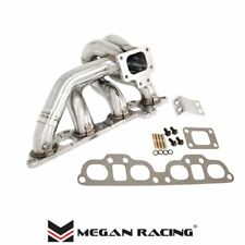 Megan Stainless Steel Header T25 T28 Turbo Manifold Fits 240sx S13 S14 SR20det