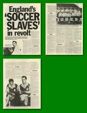 Revolt Of International Football Aces Over £12 A Week Maximum Wages Old Article