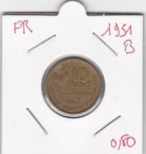 France 10 Francs 1951 B - type Guiraud