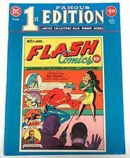 Famous First Edition F-8 Vg, Flash #1 Treasury 1975