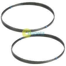 """1425mm (56"""") BandSaw Blades 6 tpi For Cutting Metal Plastic Wood 2 Pack"""