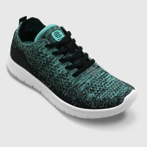 C9 Champion Women's Freedom 2 Wide Width Knit Sneakers, Turquoise US Size 8W NWB