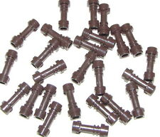 LEGO LOT OF 25 NEW DARK BROWN STAR WARS LIGHTSABERS WEAPONS SABERS