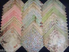 12x12 Scrapbook Paper Studio Kirby Teesdale Vintage Butterflys Florals 40 Lot