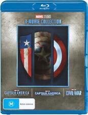 Captain America (Blu-ray, 2018, 3-Disc Set)