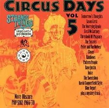 Circus Days - Vol. 4 & 5 Rare UK Psychedelic Obscurities 1967-1971 CD Pop Smoke
