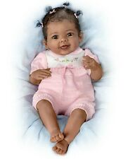 African American - Taylor's Ticklish Toes! 22 Inch Collectors Baby Girl Doll