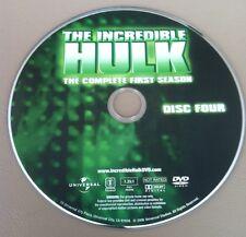 THE INCREDIBLE HULK SEASON 1 DISC 4 REPLACEMENT DVD