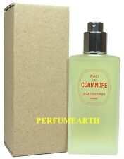 Eau De Coriandre By Jean Couturier 3.3/3.4oz Edt Spry Tester Women In Tester Box