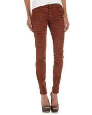 RICH & SKINY Legacy Printed Skinny Jeans RUST CROC Wash Size 27 MSRP$175