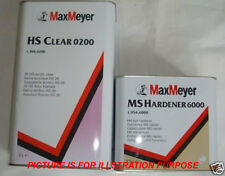 Max Meyer 2K Clear Lacquer 5L And Express Activator 2.5L With Free Postage