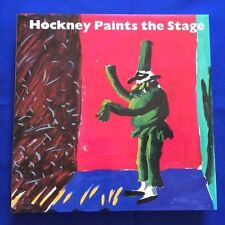 HOCKNEY PAINTS THE STAGE - FIRST EDITION SIGNED BY DAVID HOCKNEY