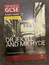 York Notes GCSE Dr Jekyll And Mr Hyde Revision Guide