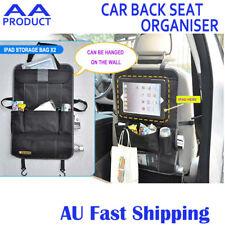 Car BackSeat Back Seat Organiser Travel Storage Bag with Pocket for iPad Holder