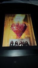 Dream Theater Another Day Rare Original Radio Promo Poster Ad Framed! #1