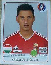 676 Krisztian Nemeth HUNGARY Panini Euro 2016 France sticker