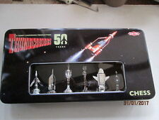THUNDERBIRDS CHESS SET IN TIN BOX - 50th ANNIVERSARY EDITION , NIB
