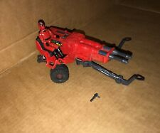 Action Force RED LASER AND LASER EXTERMINATOR, 1980's, VINTAGE,GI JOE