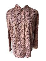 SCOTCH AND SODA WOMEN'S LONG SLEEVE SHIRT, DUSTY PINK, Size M, Free Postage!