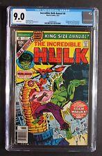 Incredible Hulk Annual #6 1st AYESHA Kismet 1977 Guardians Galaxy 2 CGC VFNM 9.0