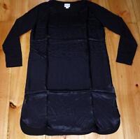 "*REISS ""ZARIA"" LONG SLEEVE DRESS BLACK SIZE UK 8 S - GORGEOUS SILK DRESS UNWORN*"