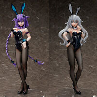 Anime Bunny Girl Hyperdimension Neptunia Black & Purple Heart 1/4 PVC Figure Toy