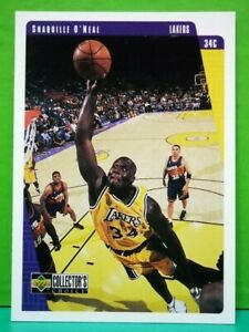 Shaquille O'Neal regular card 1997-98 Upper Deck Collector's Choice #67