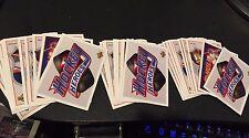 BRETT HULL 1991-92 Upper Deck HEROES LOT of  3  Complete 10 Card SETS w Headers!