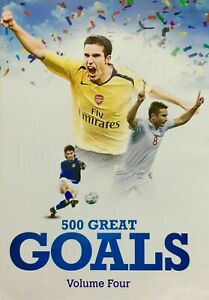 500 Great Goals DVD - Volume 4 World Cup Soccer Football - Sports