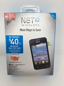 """NET 10 WIRELESS LG OPTIMUS FUEL ANDROID 3.5"""" TOUCHSCREEN NEW"""