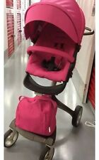 Stokke Xplory Pink Stroller and Bassinet