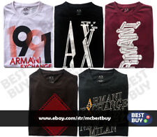 Armani Exchange Men's T-Shirts Short Sleeve Round Neck