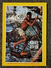 National Geographic magazine November 1991 Zaire River, Japan, Alaska Highway