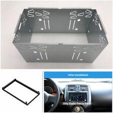 Doppio 2 DIN Fascia Pannello Telaio di montaggio/Installazione Kit Per Auto Stereo DVD