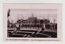 RPPC,London,U.K.Franco-British Exposition,Elite Gardens & Grand Restaurant,1908