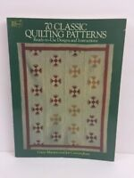 70 Classic Quilting Patterns by Gwen Marston and Joe Cunningham 1987 Softcover W