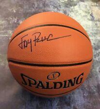 GFA Announcer ESPN College * JAY BILAS * Signed Autograph Basketball J2 COA