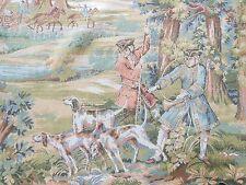 Vintage Toile de Jouy/Géorgien Figure Tapisserie/Wall hanging, 180 x 92 cm