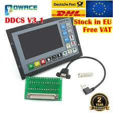 【IT】CNC 4Axis DDCS V3.1 500KHz Stepper Motor Motion Controller Stand Alone Drive