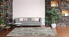 Stylish Abstract Carpets Living Room Bedroom Rugs Blue Gray Area Rug Large New