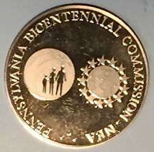 C1796    PENNSYLVANIA BICENTENNIAL COMMISSION - NEA  BRONZE   MEDAL   1976
